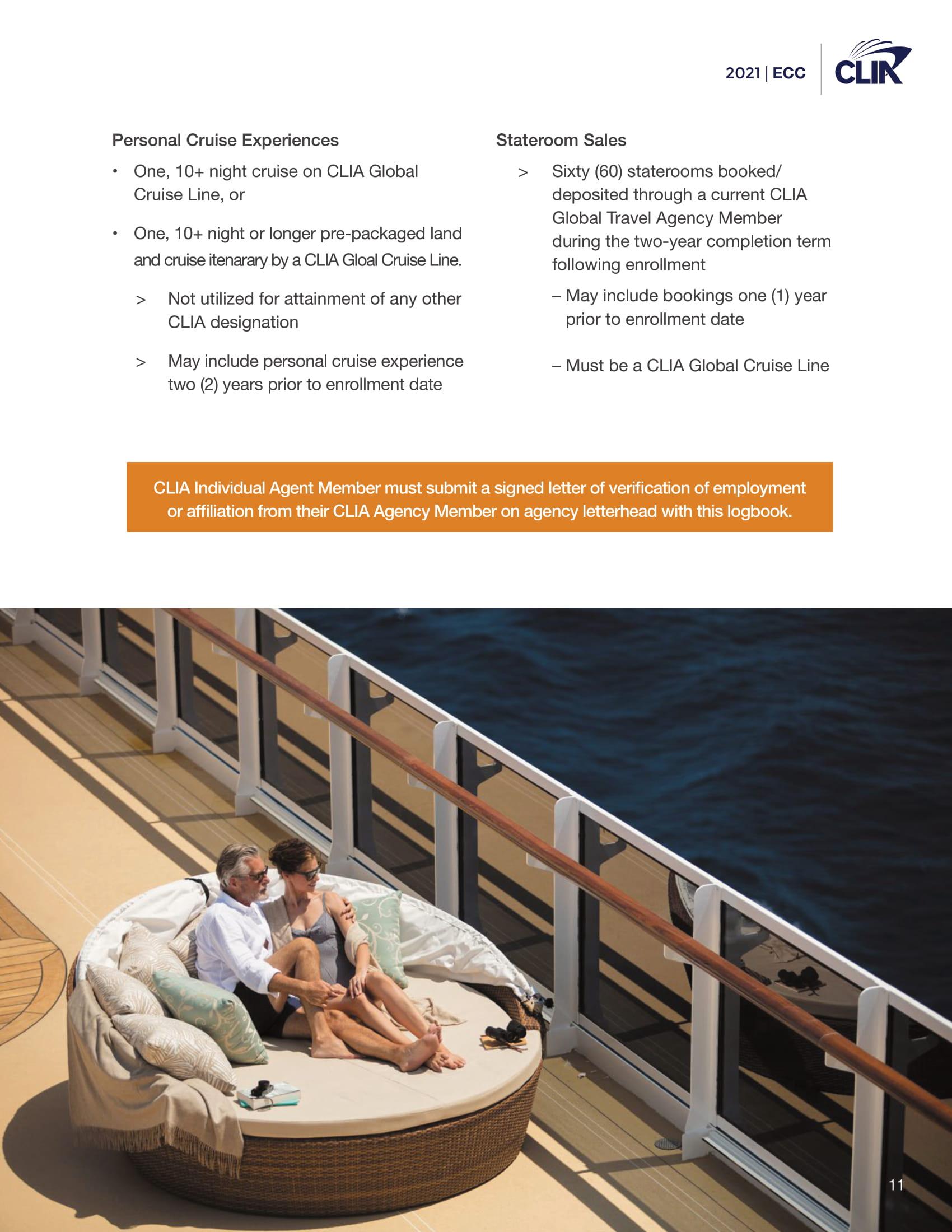 2021 Elite Cruise Counsellor Program - cliaecclogbook2021-1212020-11