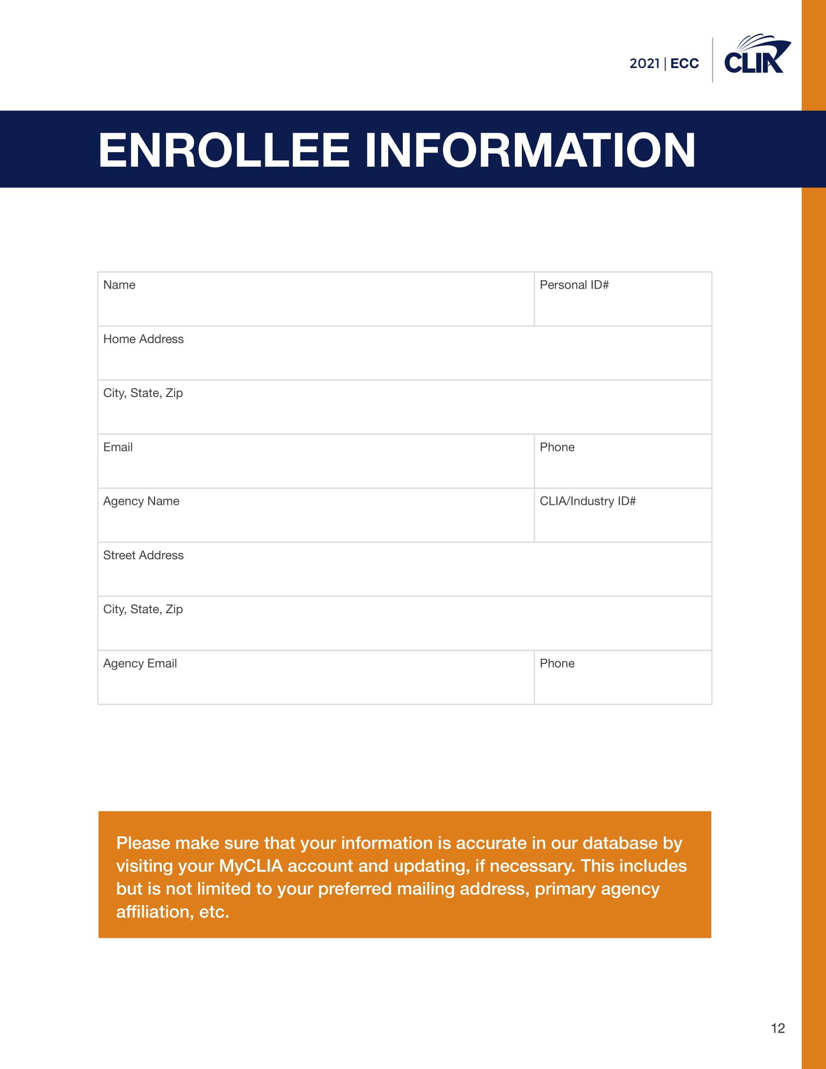 2021 Elite Cruise Counsellor Program - cliaecclogbook2021-1212020-12