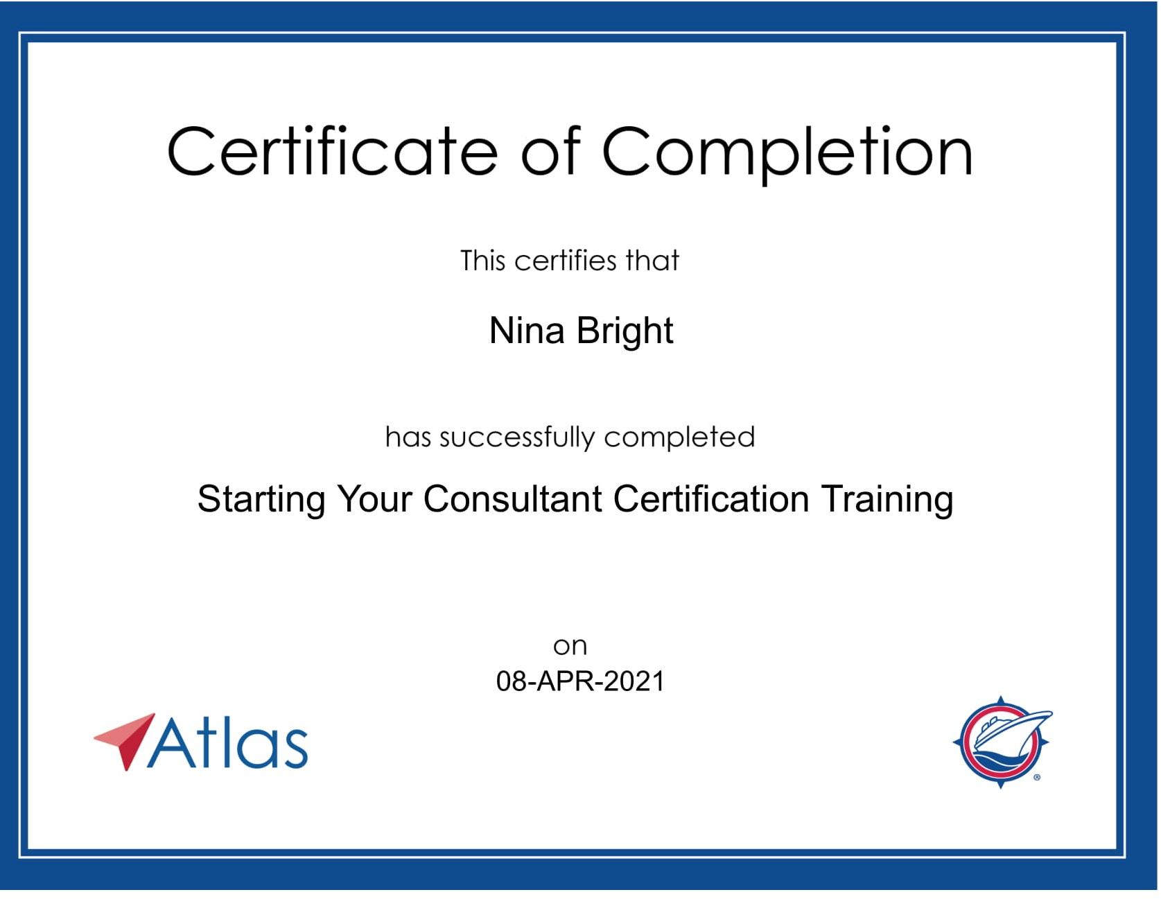 Atlas - Certificate - Starting Training-1