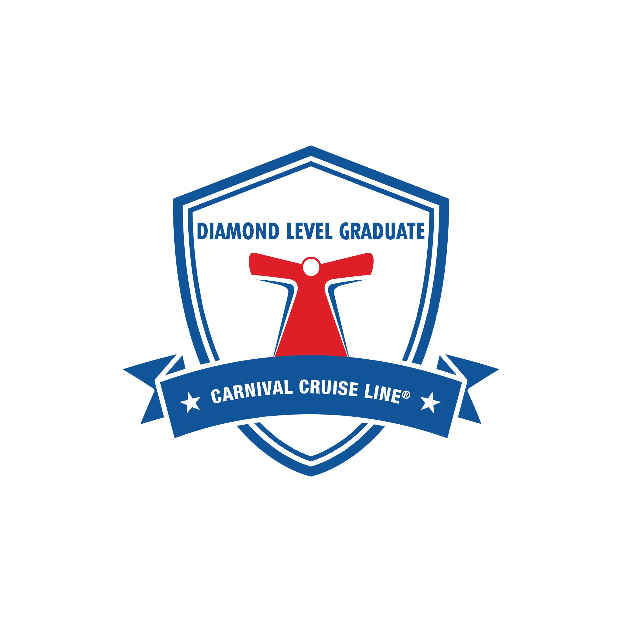Carnival Cruises - Diamond Level Graduate (Logo)
