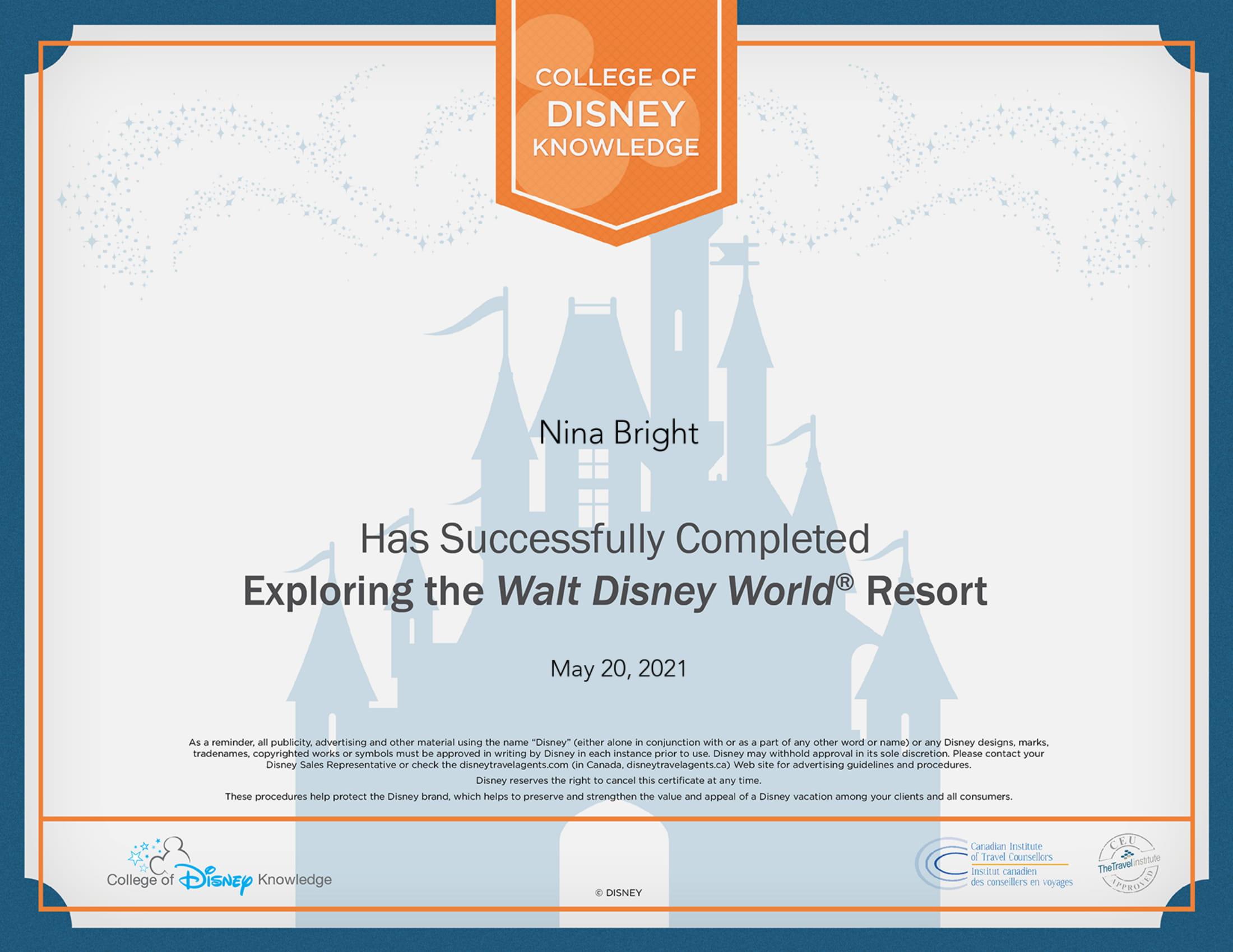 Disney Exploring Walt Disney Resort-1